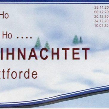 HoHoHo Es Weihnachtet in Buttforde!