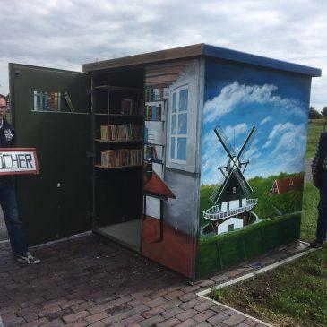 Buttforde hat jetzt eine eigene Bücherei