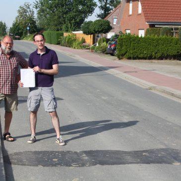 Bodenwellen und Straßenschäden in Buttforde