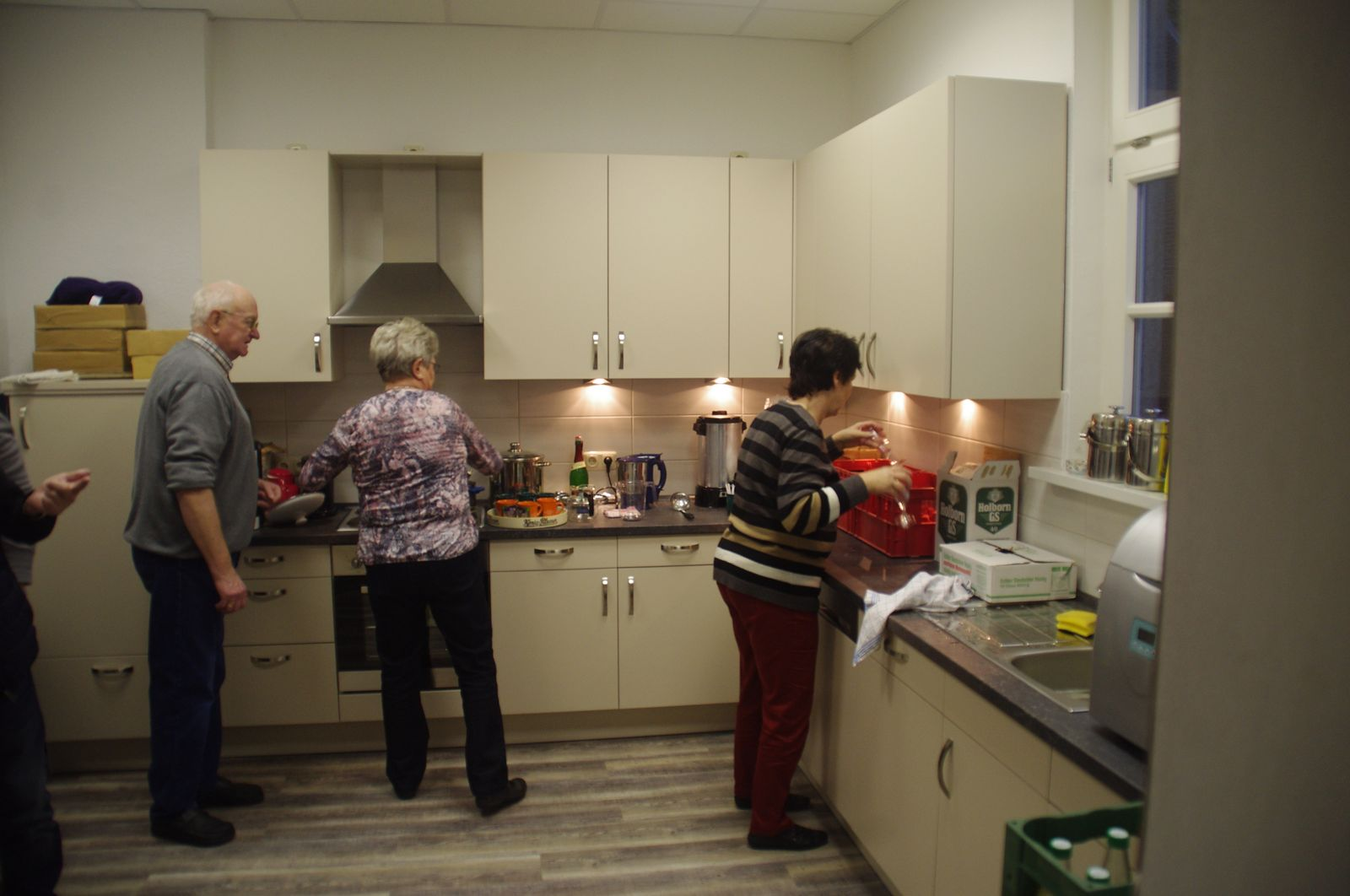 Die Küche im Einsatz