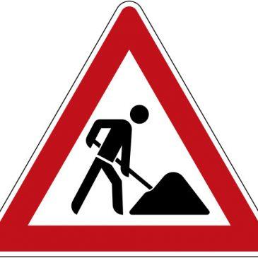 Update Bauarbeiten-/ Straßensperrungen