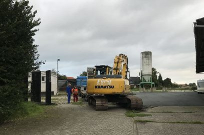 Update: Arbeiten am Soccerplatz haben begonnen