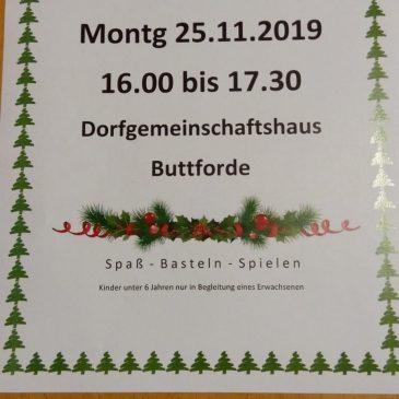 Weihnachtsbaumaktion im DGH